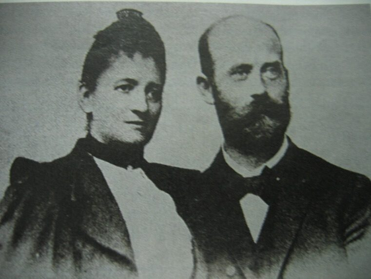 Fannie Eilshemius (1850-1934) và Walther Hesse (1846-1911 )