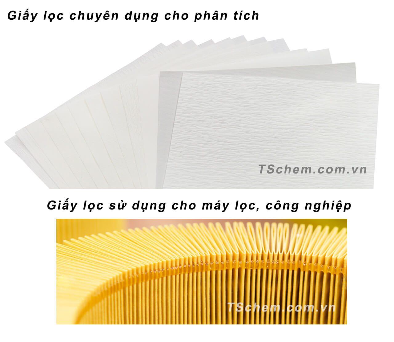 Một số loại giấy lọc phổ biến