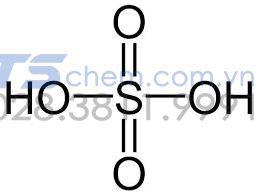 Cấu tạo của phân tử H2SO4