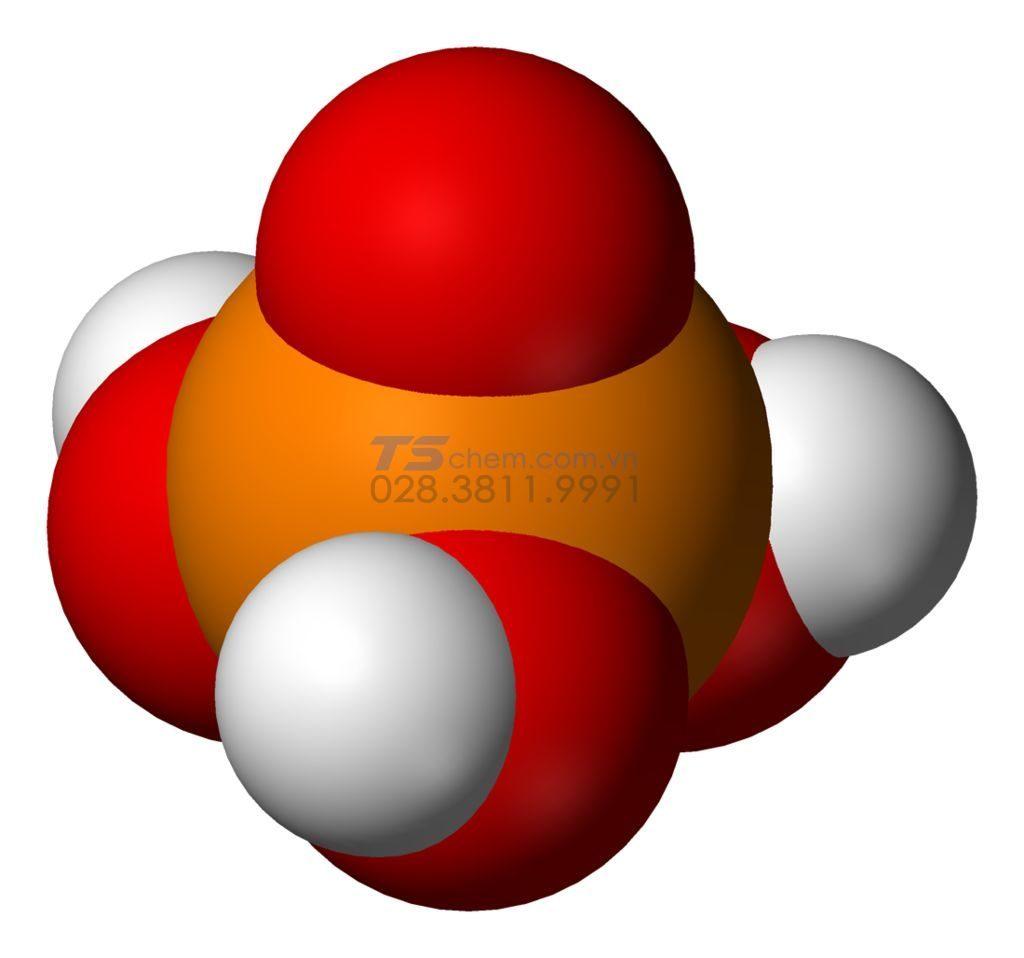 Cấu tạo phân tử của H3PO4