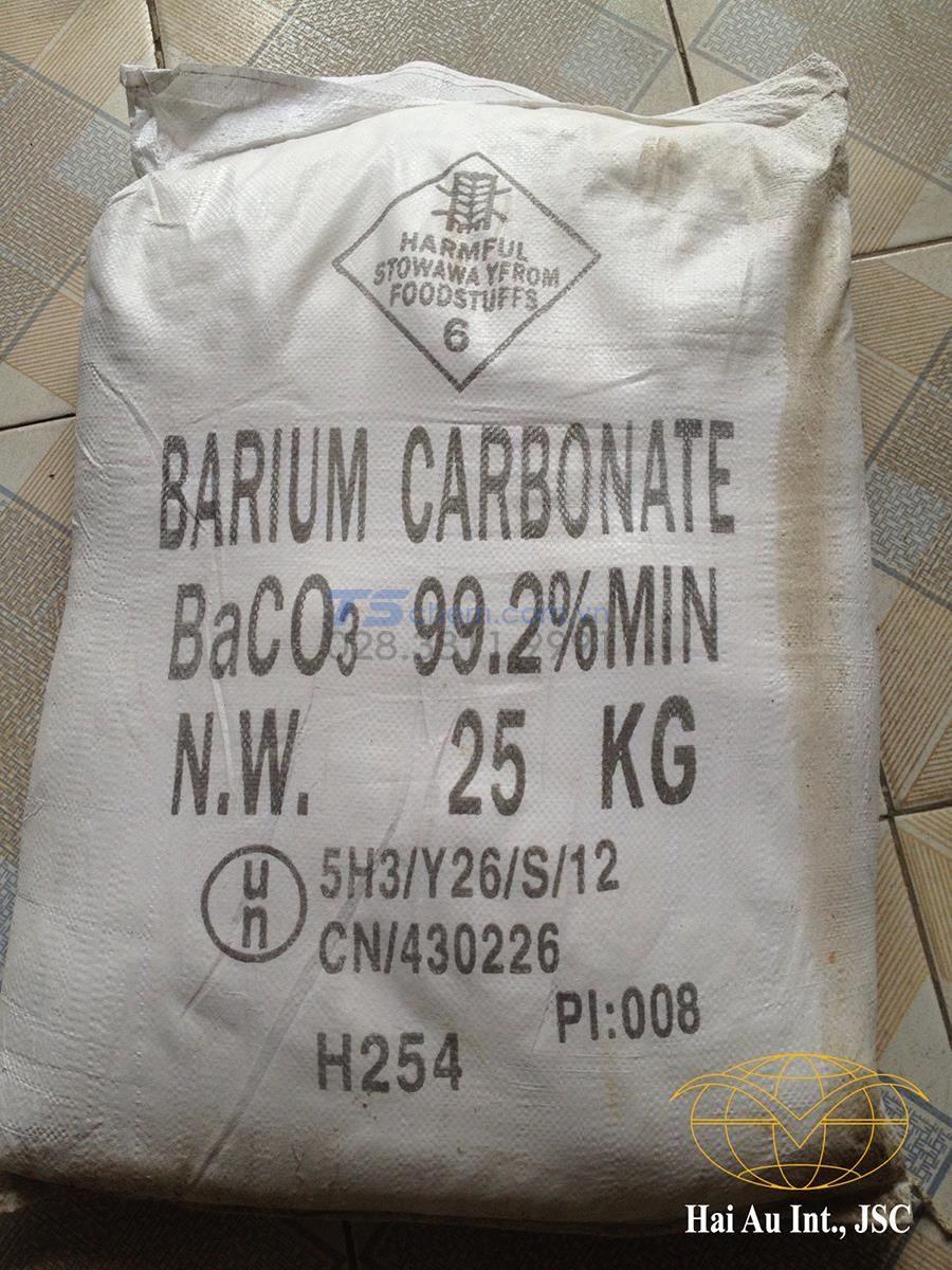 BaCO3 được ứng dụng trong công nghệ làm gốm sứ.