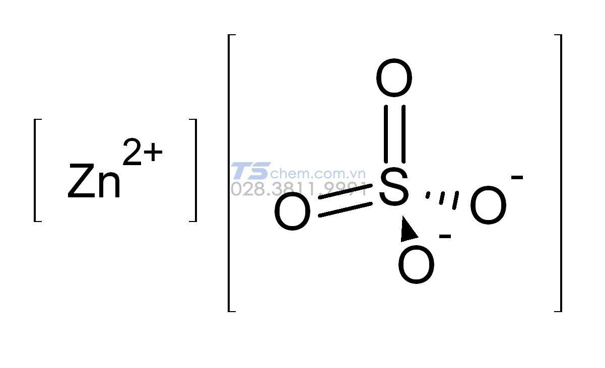 Cấu tạo phân tử của ZnSO4 là gì?