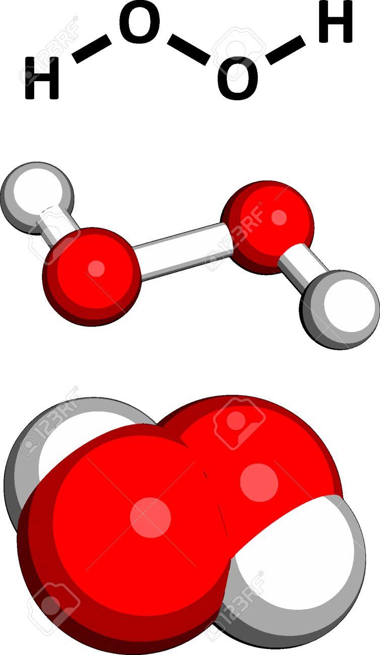 Công thức phân tử của Hydro peroxit