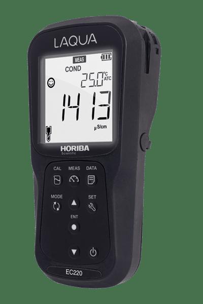 Máy đo độ dẫn / điện trở / tổng hàm lượng chất rắn hòa tan (TDS) cầm tay - EC220M - Horiba