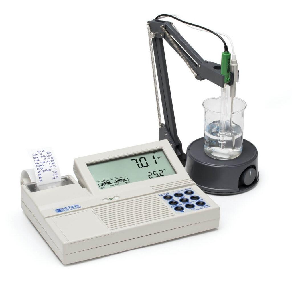 Cách sử dụng máy đo pH để bàn Hanna