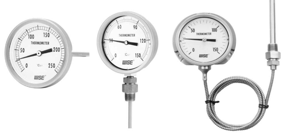Các loại đồng hồ đo nhiệt độ phổ biến hiện nay