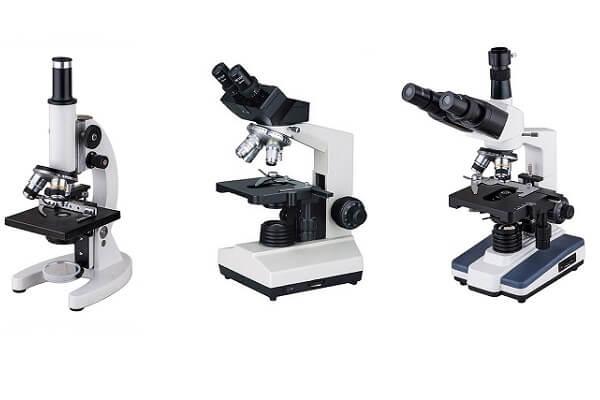 Các loại kính hiển vi thông dụng