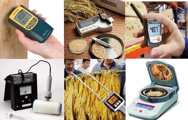 Các loại máy đo độ ẩm thông dụng
