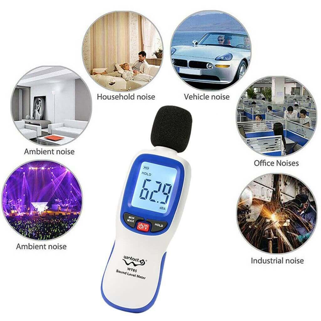 Các ứng dụng của máy đo độ ồn và phân tích âm thanh