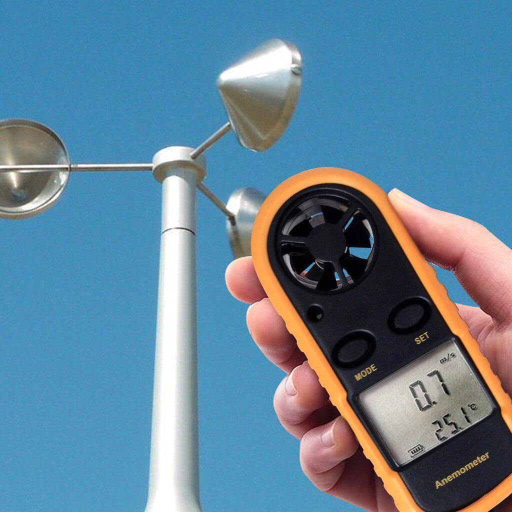 Cách sử dụng máy đo tốc độ gió