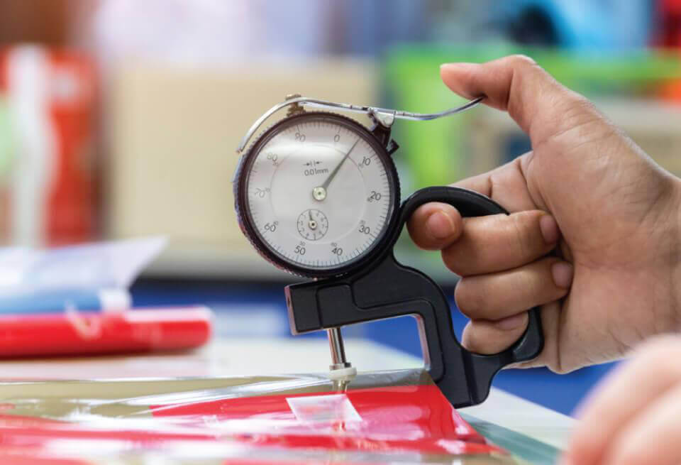Cách sử dụng thước đo độ dày