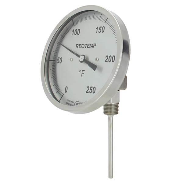 Cấu tạo của đồng hồ đo nhiệt độ