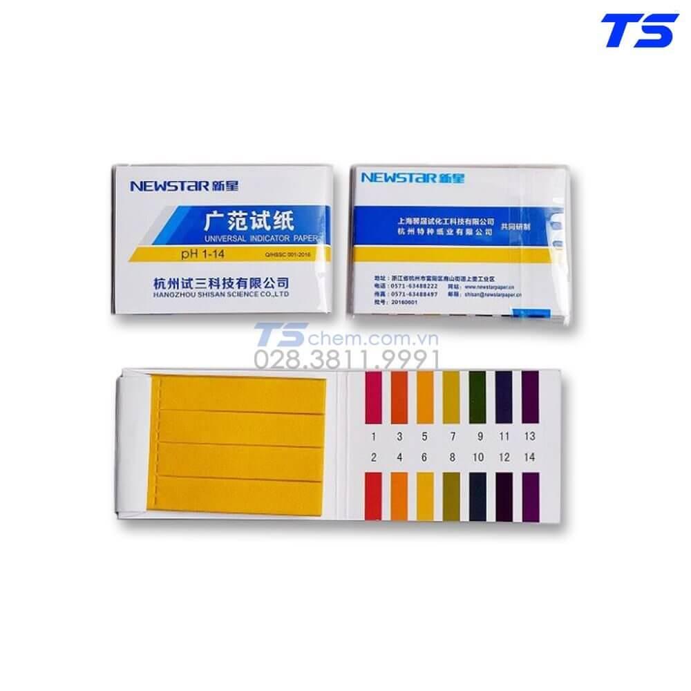 Cơ chế đổi màu theo pH của giấy đo pH