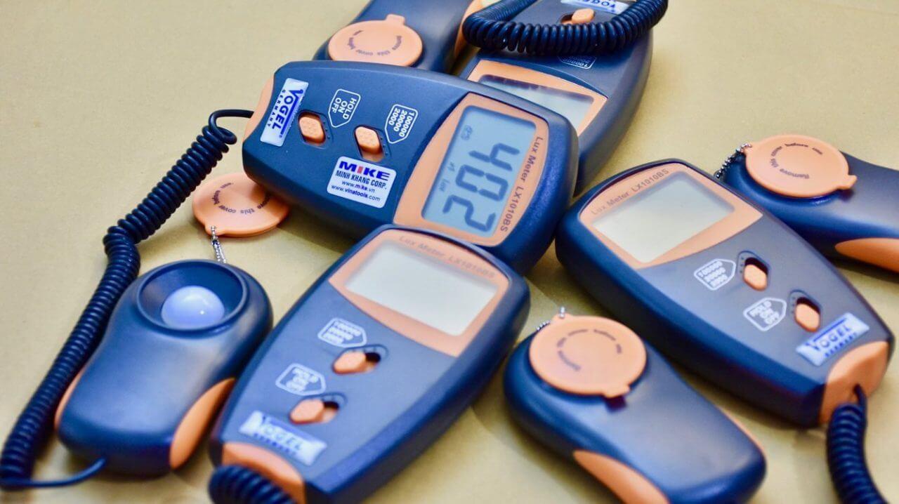 Giới thiệu một số máy đo cường độ ánh sáng phổ biến hiện nay