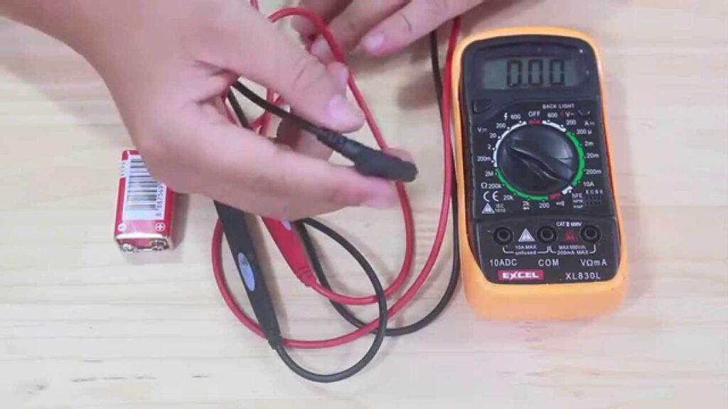 Hướng dẫn các bước đo điện trở bằng máy