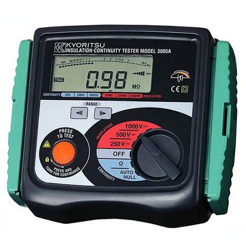Máy đo điện trở là gì?