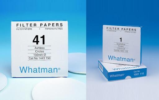 Sự khác nhau giữa giấy lọc định tính và giấy lọc định lượng