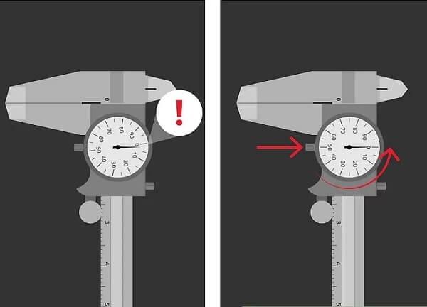 Cách bảo quản thước kẹp đồng hồ